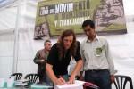 Oscar de Isasi   Apertura y firma de acta en la 1er Feria de lxs Trabajadorxs