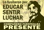 Carlos Fuentealba PRESENTE! | Su lucha continúa