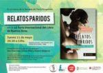 Relatos Paridos | 11 de mayo en la Feria del Libro